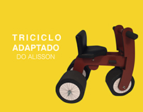 Triciclo Adaptado - Tecnologia Assistiva