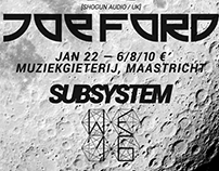 WE Festival x Subsystem Present: JOE FORD