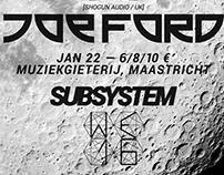 WE Festival x Subsystem Present: JOE FORD