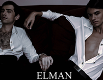 E4LMAN EDITORIAL 'HIS WHITE SHIRTS' Couture Collection