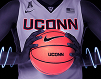 UConn Basketball First Night Poster