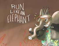 run like an elephant