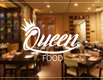 Queen Food - Resturant Logo