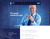 CLINIC - WordPress Business Website Template Design.