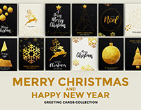 Merry Christmas and Happy New Year Brochure Design