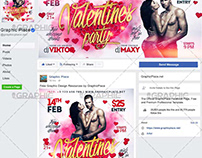 Valentine Party - Animated Flyer PSD Template