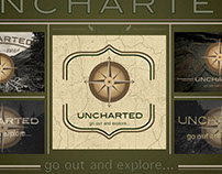 Uncharted logo design