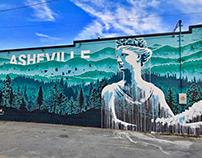 West Asheville Mural