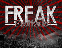 Freak Festivals - Diseño de marca