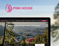 Pink House Hotel - Website Design