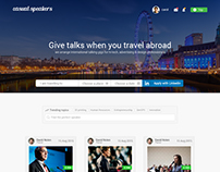 Website design for casual speakers