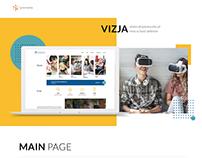 Vizja -new school website