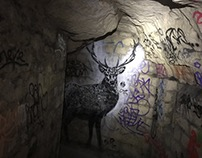underground deer by Tefi