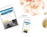 Identidade Visual + Blog para Aprendiz de Buda