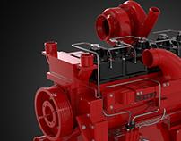 Cummins QSK19 Diesel Engine