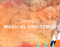 Orange Magical Christmas / Interactive Installation