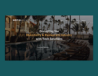 Hospitality Tech website