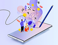 SAMSUNG Galaxy Note 10 - A Note to Impact