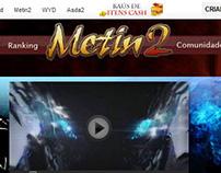 Antigo website Metin 2
