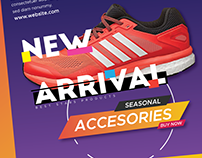 Shoe Product ad banner kit