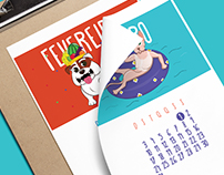 Neon Pet Shop | 2016 Calendar