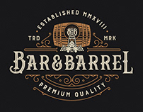 Bar&Barrel Logo Design
