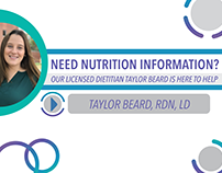Baylor Dietitian Infographic