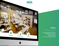 MIX Studio - Website