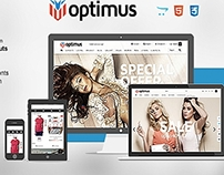 Optimus Opencart Fashion Theme
