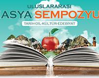 Uluslararası Amasya Sempozyumu Web banner ve Afiş