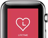 LIFETIME -Apple Watch Health App-