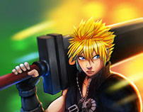 Cloud Strife fan art