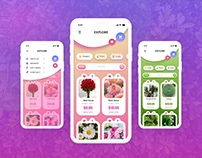 Shopping APP Design by Adobe XD - Free Download