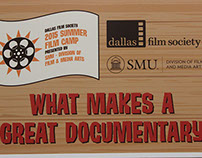 2015 Dallas Film Society Film Boot Camp at SMU