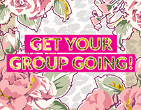 Sales Page Design - Get Your Group Going