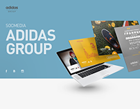Adidas Group. Socmedia