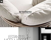 Redesign Loja Virtual Artefacto
