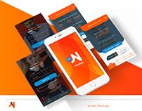 Tarjeta NARANJA | Diseñador UI » Ejercicio App [UX/UI]