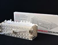 Le Centre Pompidou Paper Building PACKAGING