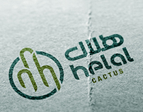 Helal Cactus - Logo & identity design