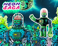 Zack the Android, Vinyl Toy   「人造人查克」軟膠玩具, 設計