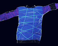 """3D Hoodie inspired by the """"Cyberpunk 2077"""""""