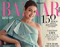 Harpers Bazaar India with Sonali Bendre