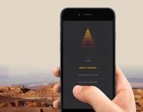Arrakis - logo and responsive website design