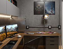 HOME OFFICE INSPIRED BY WICHER 3