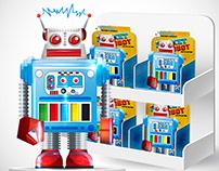 Rocket Robot Toy