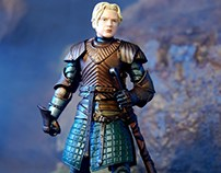 Brienne of Tarth action figure - Game of Thrones