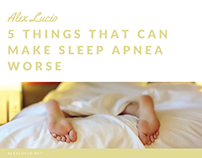 5 Things That Can Make Sleep Apnea Worse