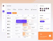 Project Tracker – Dashboard