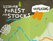 Gisburn Forest & Stocks signage and collateral